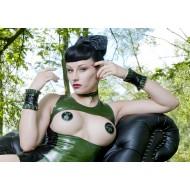Pasties Groen/Zwart