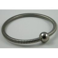 Halsband met bolsluiting