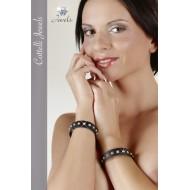 Kunstlederen armband per 2