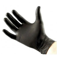 Latex handschoenen zwart