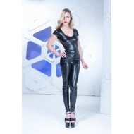 Leatherlook broek Jamie