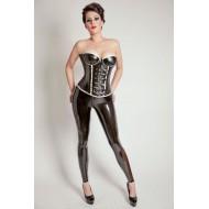 Latex corset Aila
