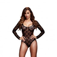 Baci - Blacklacy Bodysuit Back Cutout O/S