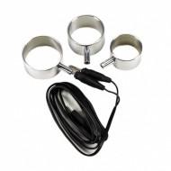 Electro Set Aluminium Cock Rings