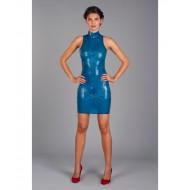 Hooggesloten jurk