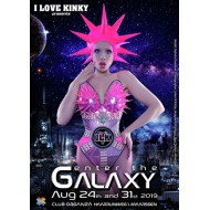 Kaarten I LOVE KINKY - enter the Galaxy