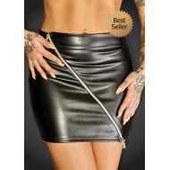 Mini rok met 2-weg rits