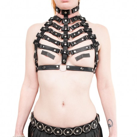 Skeleton Chest Harness