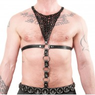 Filigree Chest Harness + Cockring Extension
