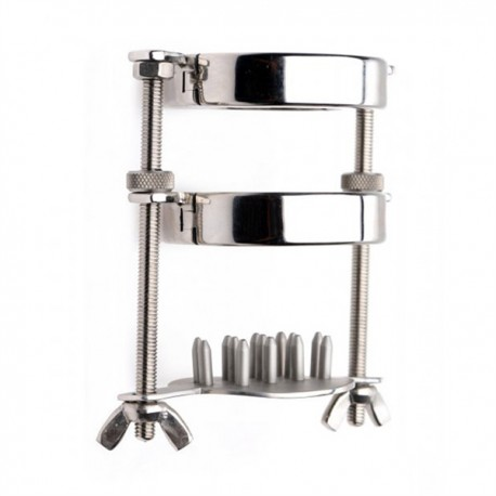 Ball Stretcher With Spiked Crusher