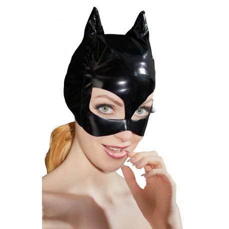 Lak katten masker (S-L)