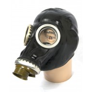 Russisch gasmasker zwart GP-5