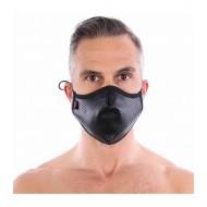 Fetish washable mask black
