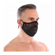 WASHABLE BLACK MESH OVER-MASK