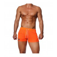 HAPPY SHORTS NEON ORANGE