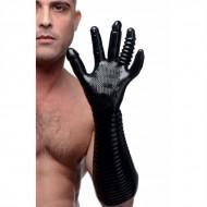Getextureerde fisting handschoen