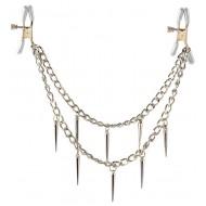 Tepelklemmen met een stijlvolle metalen ketting