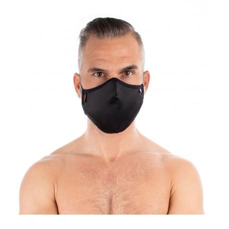Satijnen polykatoen masker