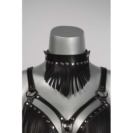Fringe halsband