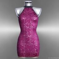 Semi transparante jurk Devore