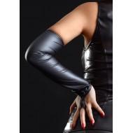 Lange vingerloze handschoen